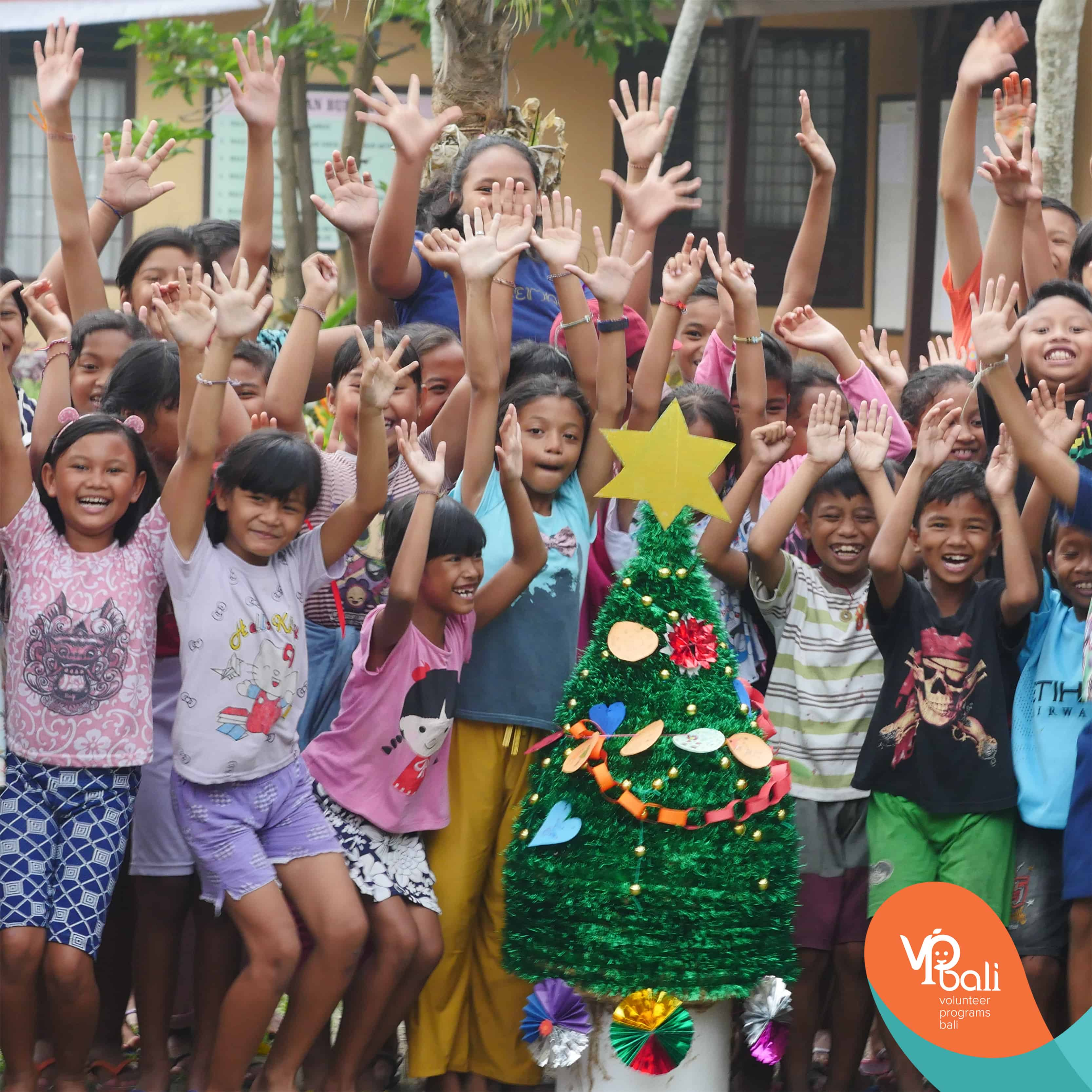 Christmas In The Air.Christmas In Bali While Volunteering