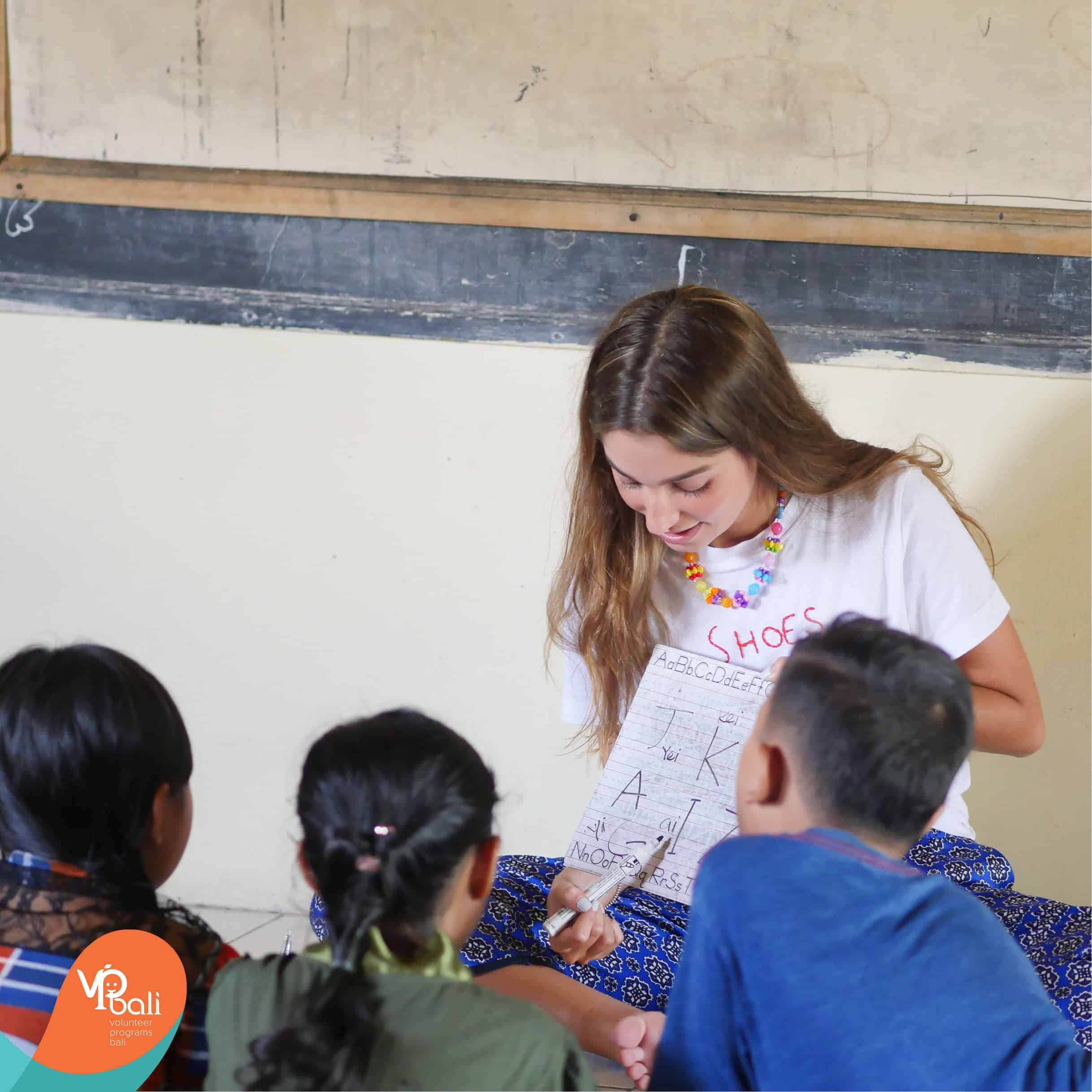 Outside of our creative learning techniques, we create our own little melting pot between all of our volunteers from different countries. When volunteers from different cultures, speaking different first languages co-teach together, it allows our students to get a glimpse of cultures beyond the island they call home.