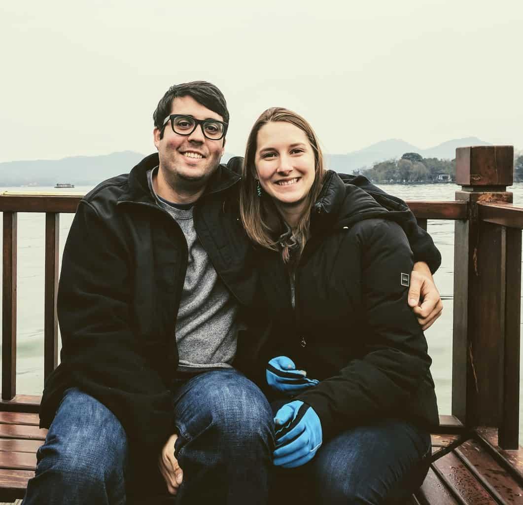 Oscar and Sarah Wahltinez