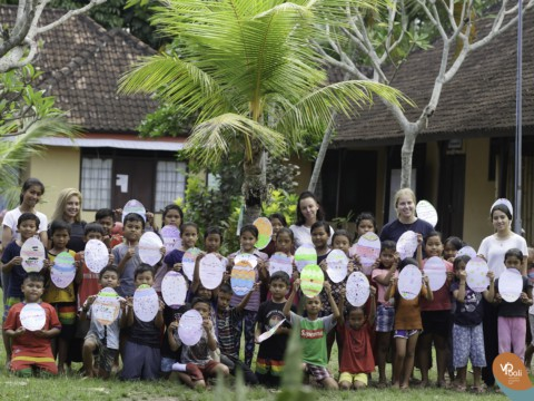 Sharing your culture while learning all about the Balinese culture.