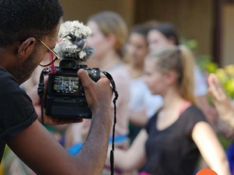 Contributing and sharing your skills at Volunteer Programs Bali.